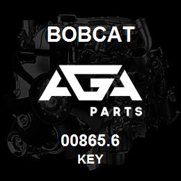00865.6 Bobcat KEY | AGA Parts