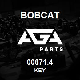 00871.4 Bobcat KEY | AGA Parts
