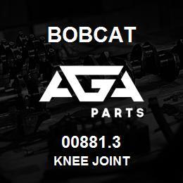 00881.3 Bobcat KNEE JOINT | AGA Parts