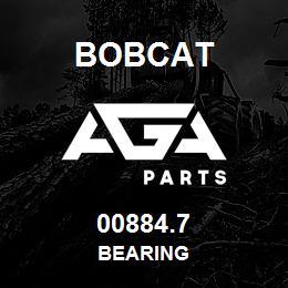 00884.7 Bobcat BEARING | AGA Parts