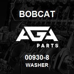 00930-8 Bobcat WASHER | AGA Parts