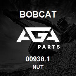00938.1 Bobcat NUT | AGA Parts