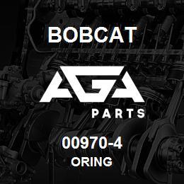 00970-4 Bobcat ORING | AGA Parts