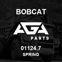 01124.7 Bobcat SPRING | AGA Parts