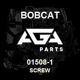 01508-1 Bobcat SCREW | AGA Parts