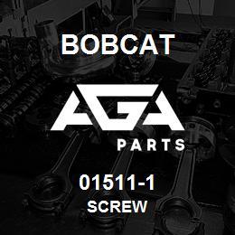 01511-1 Bobcat SCREW   AGA Parts
