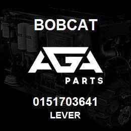0151703641 Bobcat LEVER | AGA Parts