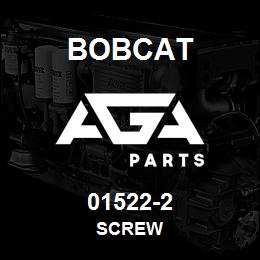 01522-2 Bobcat SCREW | AGA Parts