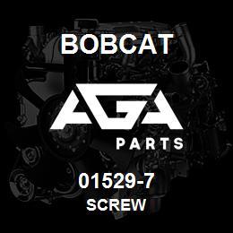 01529-7 Bobcat SCREW | AGA Parts