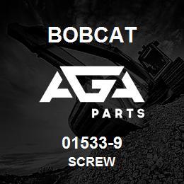 01533-9 Bobcat SCREW | AGA Parts