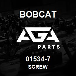 01534-7 Bobcat SCREW | AGA Parts
