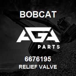 6676195 RELIEF VALVE - 6676195 - Bobcat spare part
