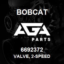 6692372 VALVE, 2-SPEED - 6692372 - Bobcat spare part