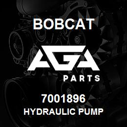 7001896 HYDRAULIC PUMP - 7001896 - Bobcat spare part, replacement part