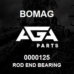 0000125 Bomag Rod end bearing | AGA Parts