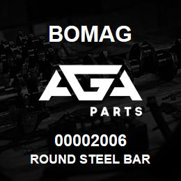 00002006 Bomag Round steel bar | AGA Parts