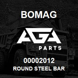 00002012 Bomag Round steel bar | AGA Parts