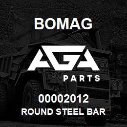 00002012 Bomag Round steel bar | AGA Parts