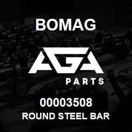 00003508 Bomag Round steel bar | AGA Parts