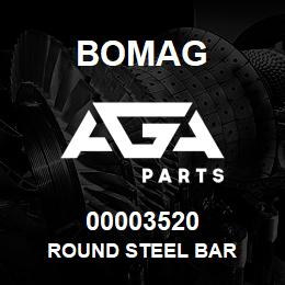 00003520 Bomag Round steel bar | AGA Parts