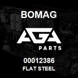 00012386 Bomag Flat steel | AGA Parts