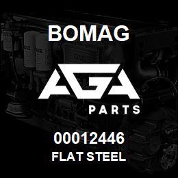 00012446 Bomag Flat steel | AGA Parts