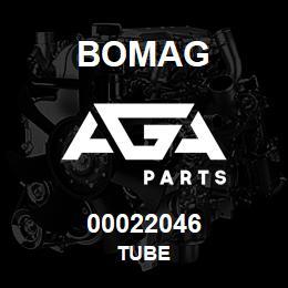 00022046 Bomag Tube | AGA Parts