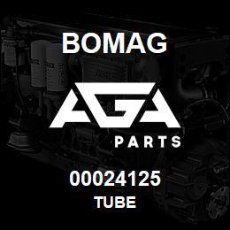 00024125 Bomag Tube   AGA Parts