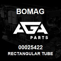 00025422 Bomag Rectangular tube | AGA Parts