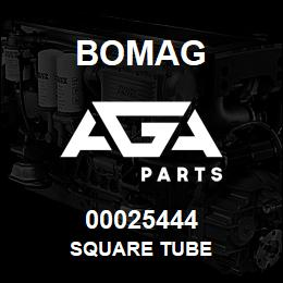 00025444 Bomag Square tube | AGA Parts
