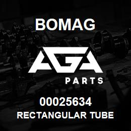 00025634 Bomag Rectangular tube | AGA Parts