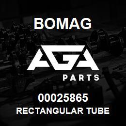 00025865 Bomag Rectangular tube | AGA Parts