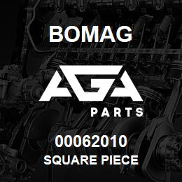 00062010 Bomag Square piece | AGA Parts