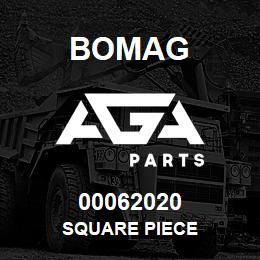 00062020 Bomag Square piece | AGA Parts