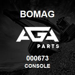 000673 Bomag Console   AGA Parts