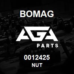 0012425 Bomag Nut | AGA Parts