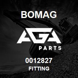 0012827 Bomag Fitting | AGA Parts