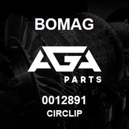 0012891 Bomag Circlip | AGA Parts