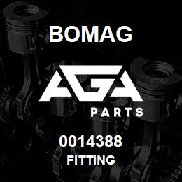 0014388 Bomag Fitting | AGA Parts