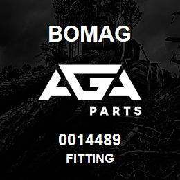 0014489 Bomag Fitting | AGA Parts