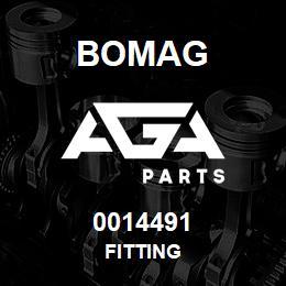 0014491 Bomag Fitting | AGA Parts