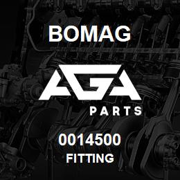 0014500 Bomag Fitting   AGA Parts