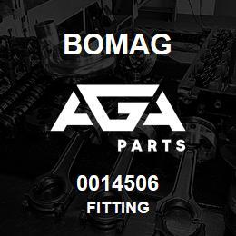 0014506 Bomag Fitting | AGA Parts