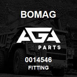 0014546 Bomag Fitting | AGA Parts