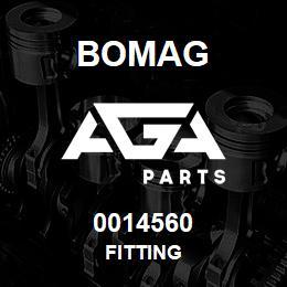 0014560 Bomag Fitting | AGA Parts