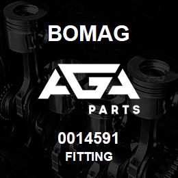 0014591 Bomag Fitting | AGA Parts