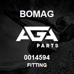 0014594 Bomag Fitting | AGA Parts