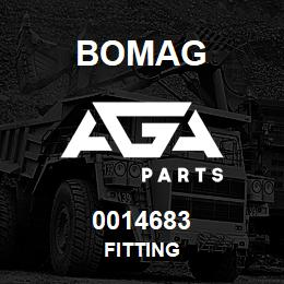 0014683 Bomag Fitting | AGA Parts