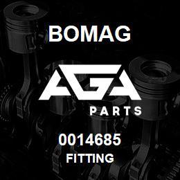 0014685 Bomag Fitting | AGA Parts