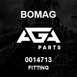 0014713 Bomag Fitting | AGA Parts